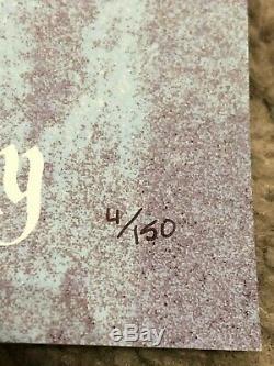 Matt Ferguson Gardiens De La Galaxie Vol 2 Sérigraphié Rare Signés 4/150 Mondo