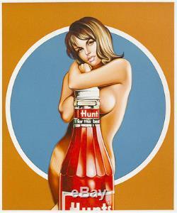 Mel Ramos Hunt Pour Le Meilleur 2013, Pop Art Grafik Lithografie, Luxus
