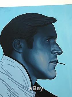 Mike Mitchell Hé, Vous Voulez Une Affiche De Portrait De Gosling Avec Un Cure-dent