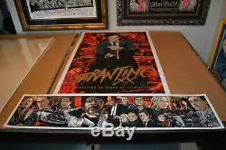 Mondo Imprimer Ken Taylor Tarantino XX Poster Set Avec Giclee Mondo Dir. Ser