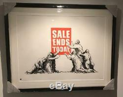 Murs Banksy -vente Ends V2- Photos Sur (pow) A Signé Ed. Inc Pest Control Coa