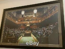 Musée Banksy Singe Officiel Du Parlement Copie / Affiche Bristol 2009 Street Art