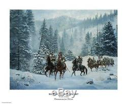 Nathan Bedford Forrest Don Stivers Édition Commémorative Giclee