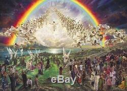 Nathan Greene L'espoir Béni Seconde Venue De Jésus-christ Art 20x28 S / N Impression