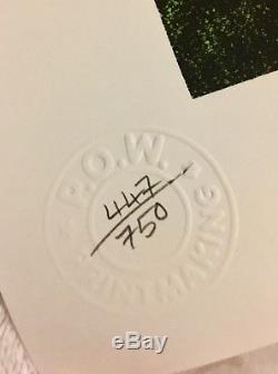 Nick Walker Mona Simpson Original Prisonnier De Guerre Signé Rare Édition Limitée 447/750