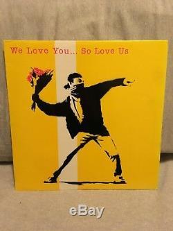 Nous T'aimons. So Love Us Lp Vinyle Très Rare Banksy Pochette Très Bon + Etat