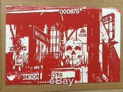 Obey X Invader Print, Numéroté / 300 & Estampillé