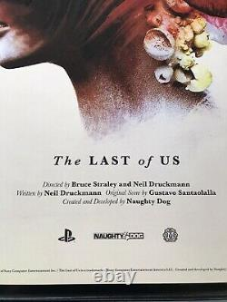 Olly Moss The Last Of Us Mondo Print Poster Collectors Edition 2 Ps 5 Star Wars