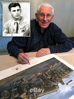 Opération Market Garden James Dietz 101ème Groupe De Frères De L'ab Autographié