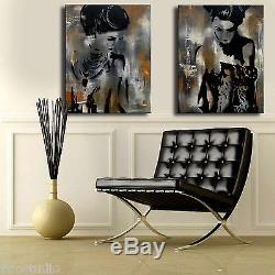 Original Abstrait Impression Moderne Home Decor Immense Mur De Toile Art By Fidostudio
