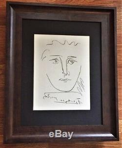Pablo Picasso Gravure Originale Signée (1950) Avec Certificat D'authenticité