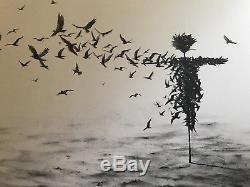Pejac Scattercrow Art Print Banksy Blessure Affiche Kaws Obey Giant Faile Invader