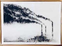 Pejac Une Forêt D'affiche Full Size Comme Banksy Invader Flegme Shepard Fairey
