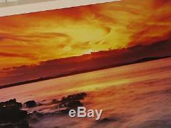 Peter Lik Last Light Photographie Originale 2m 26x79 Signée / 950 Coucher De Soleil