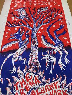Phish Poster Limited Edition Albany 1999 Vintage Pollock Print # 271/600