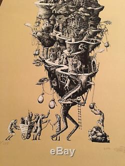 Phlegm Civilisation 2012 Street Art Print Londres Artiste Britannique