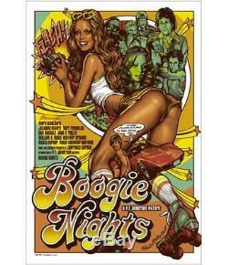 Poster Mondo Rockin Jelly Bean Boogie Nights # 'd / 335 Voir La Description