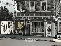 Première Grande Weston Art Print, Super Rare Edition Uniquement 40. Nick Walker, Banksy