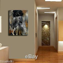 Print Résumé Moderne Originale Décoration Immense Toile Wall Art Par Fidostudio