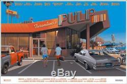 Pulp Fiction Par Laurent Durieux Ltd Édition Impr Écran Mondo Poster Art Mint