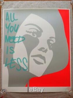 Pure Evil 1/1 Tout Ce Que Vous Avez Besoin (pas Banksy, Intérieur Brut, Brainwash, Invader)