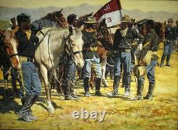 Ready For Ten Don Stivers Signed Limited Edition Print Buffalo Soldiers