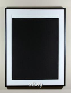Richard Serra'ballast III '2011, Gravure, Éd. 45, Signé Et Numéroté, Encadré, Neuf