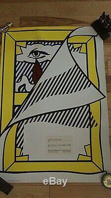 Roy Lichtenstein Art A Propos De L'art, 1978, Whitney Museum Exhibition Poster