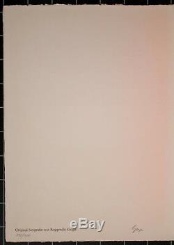 Rupprecht Geiger Rot Rot / Leuchtrot D'orange Serigraphie 1963 138/300