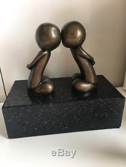 Sculpture En Bronze De Doug Hyde 'just The Two Of Us' Excellent État D'occasion