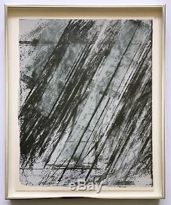 Sérigraphie Et Lithographie En Édition Limitée Signée / Numérotée 1973 Cy Twombly