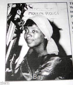 Sérigraphie Originale Signée De Thelma Johnson Streat, Artiste Afro-américaine Wpa