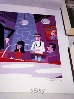 Shag You Never Can Tell Pulp Fiction Art Imprimer Josh Agle Withcoa Tarantino Film
