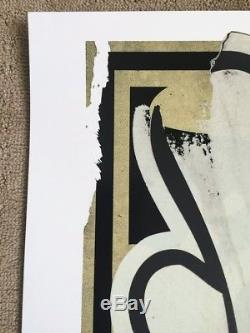 Shepard Fairey Dissobey Og Collaboration Slick Collaboration Art Obéir Giant Street Cope