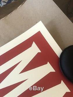 Shepard Fairey Obey Géant Art Make Pas La Guerre Affiche D'art D'impression 24x36 Signé