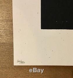Shepard Fairey Obey Géant Roulettes Signé Numéroté Écran Imprimer 100/450
