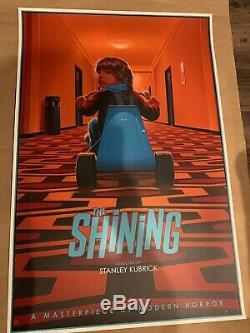 Shining Par Laurent Durieux Mondo Affiche De Kubrick Stephen King Nicholson