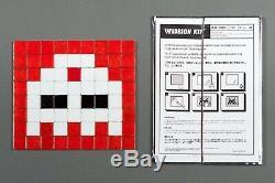 Space Invader Invasion Kit # 8 Third Eye No Reserve Comprend Signé Ephemera