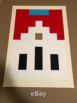 Space Invader Marlboro Art Alliance Provocateurs D'affiche Et Numérotée Signée