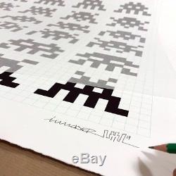 Space Invader / Répétition Variation Evolution Sérigraphie Rwe / Signé / Mint
