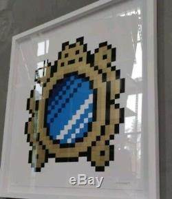 Spade Invader Versailles Blue Mirror Mint Édition Limitée 89/100 À La Main