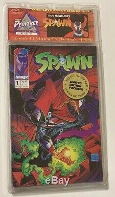 Spawn # 1 5 Limited Edition Scellé En Usine Todd Mcfarlane Tous Les 1er Imprimer