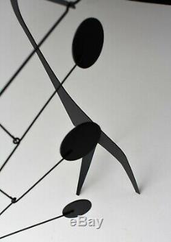 Stabile Mobile Art De Table Modern Scuplture MID Century 50 Conception De N ° 8 Black
