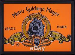 Steve Kaufman Metro Goldwyn Mayer Peinture À L'huile Originale Warhol Famous Assistant