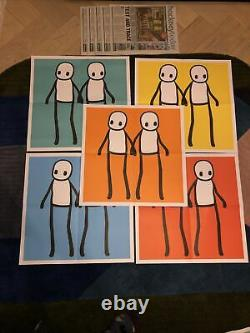 Stik Hackney Affiche Aujourd'hui Jeu Complet Avec Banksy Pic Livraison Dans Le Monde