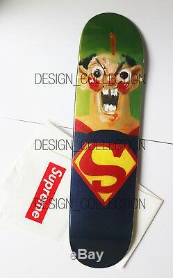 Supreme / George Condo Superman Deck Ultra Rare