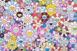 Takashi Murakami Bouquet D'amour Signé Et Numéroté, Professionnellement Encadré