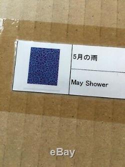Takashi Murakami Mai Douche Signé Ed Sérigraphies 100 Bleu / Violet