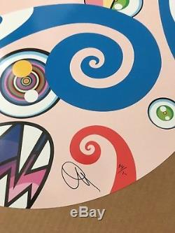Takashi Murakami Nous Sommes Le Clan Jocular Carré # 2 Print Complexcon Signed / 300