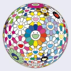 Takashi Murakami Print Edition 300 Flowerball Veut Vous Tenir